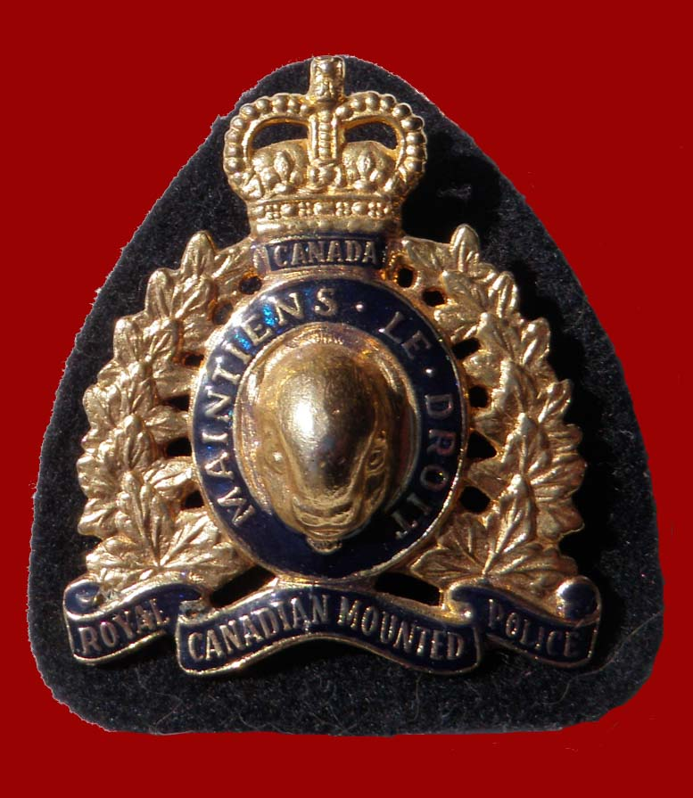 RCMP Hat Badge 1973-Present