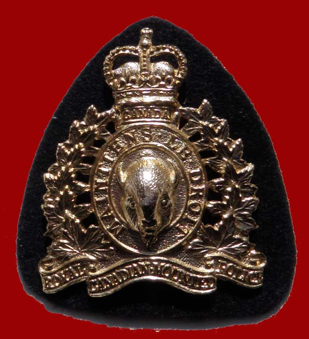 RCMP Hat Badge 1954-1973
