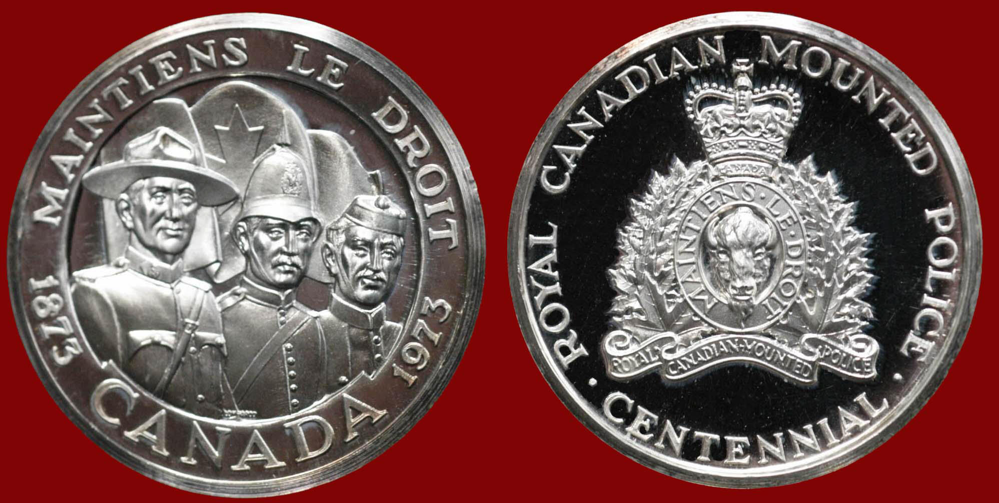 RCMP Challenge Coins