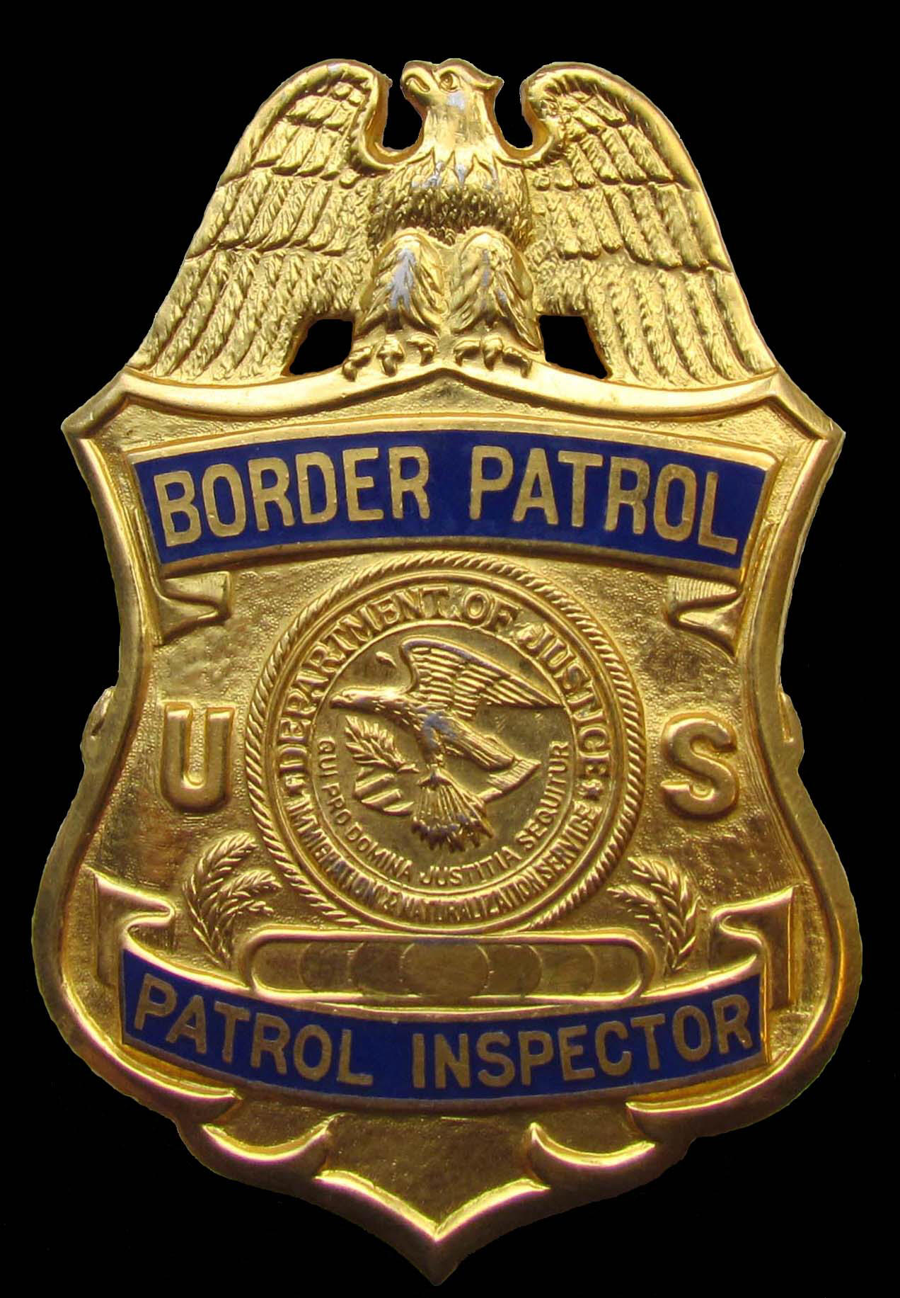 U.S. Border Patrol Patrol Inspector badge