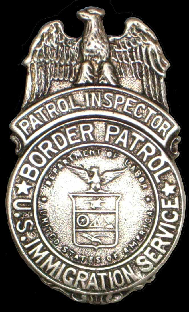 U.S. Border Patrol Inspector badge