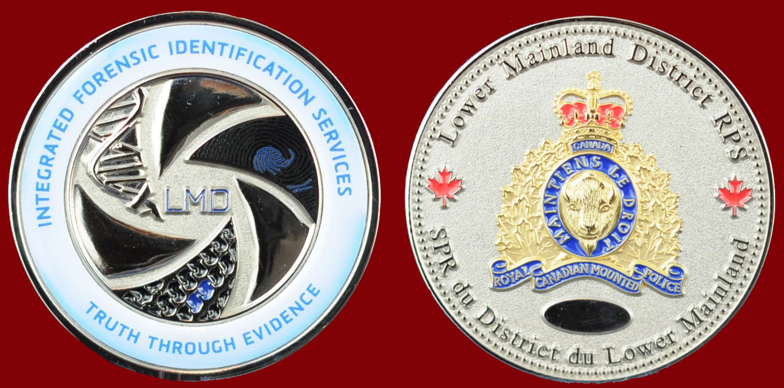 RCMP INTEGRATED FORENSIC IDENTIFICATION SERVICES