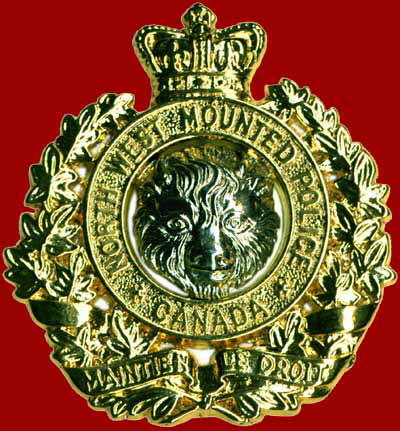 NWMP Hat Badge
