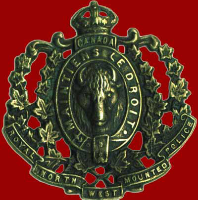 RNWMP Hat Badge
