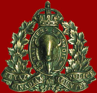 RCMP Hat Badge
