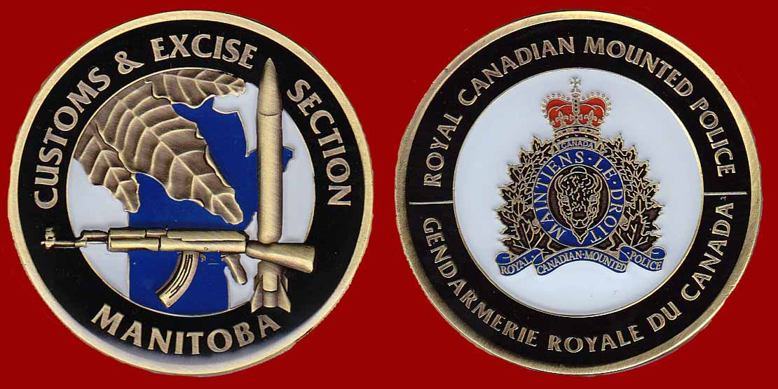 RCMP Manitoba Customs & Excise Section