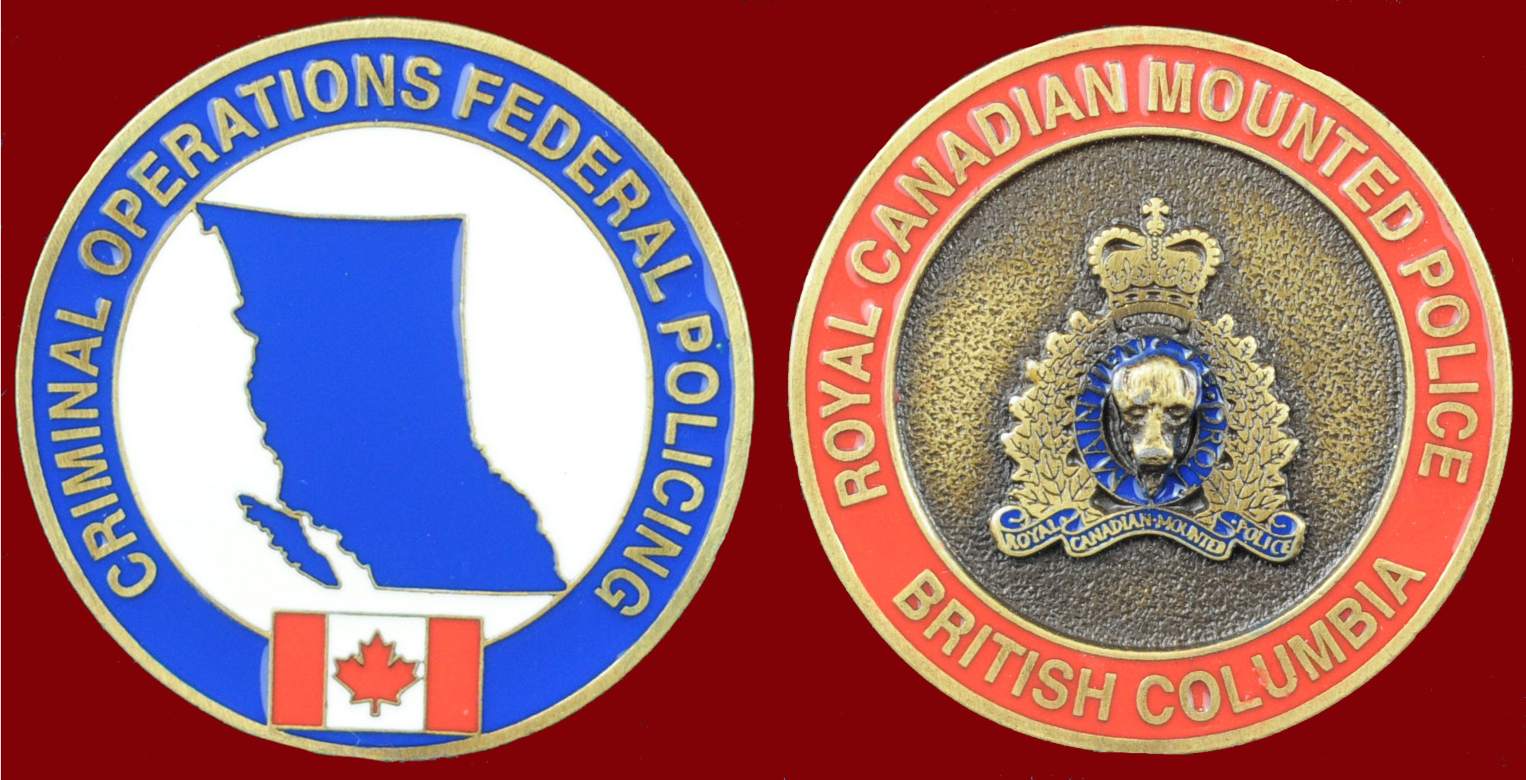 RCMP FEDERAL POLICING BRITISH COLUMBIA