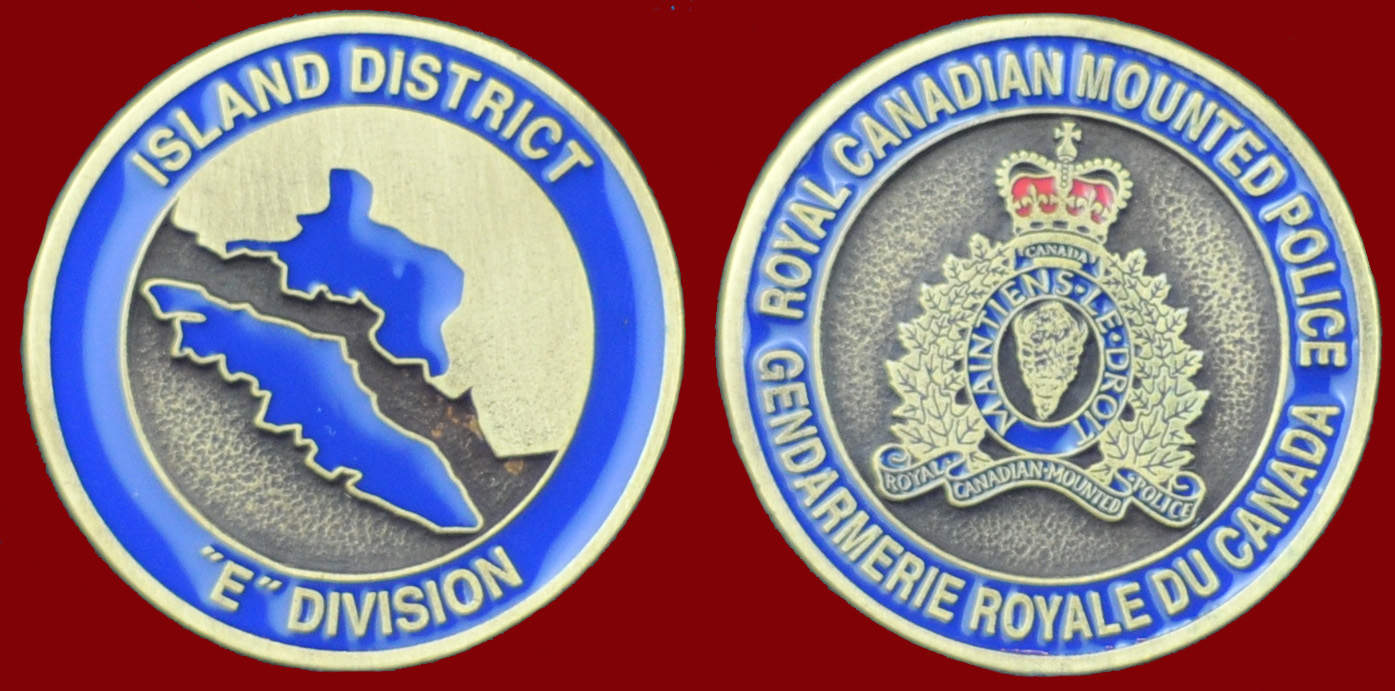 RCMP ISLAND DISTRICT E DIVISION