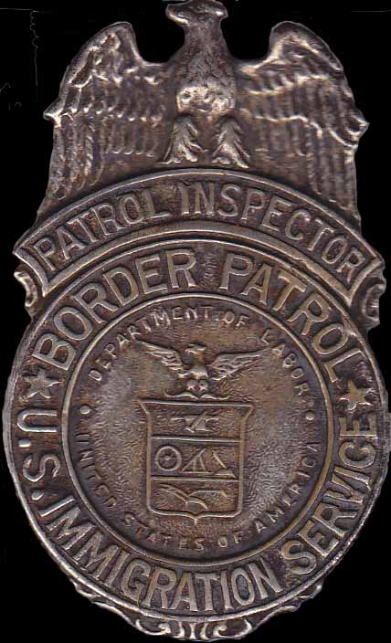 US Border Patrol Inspector - Dept of Labor