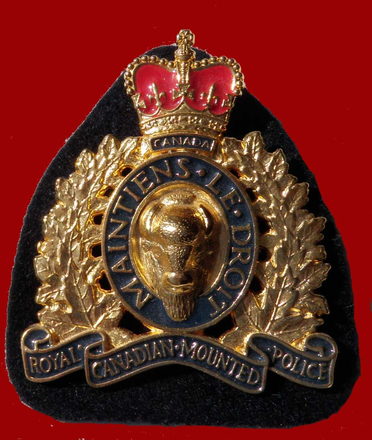 RCMP Hat Badge Current Style